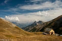 Wunderschöne Aussicht von der Passhöhe des Col d'Allos