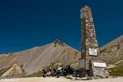 Die Passhöhe des Col d'Izoard