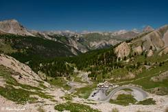 Ausblick vom Col d'Izoard Richtung Briançon