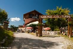 An der Passhöhe des Col de Turini steht unter anderem dieses Restaurant