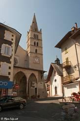 Die Kirche von Guillestre