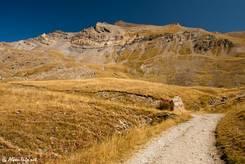 Wanderweg hinauf zum Lac du Pontet
