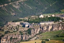 Ausblick auf die Festung und das Dorf Mont-Dauphin