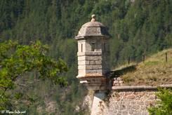 Teil der Festungsmauer oberhalb des Guil